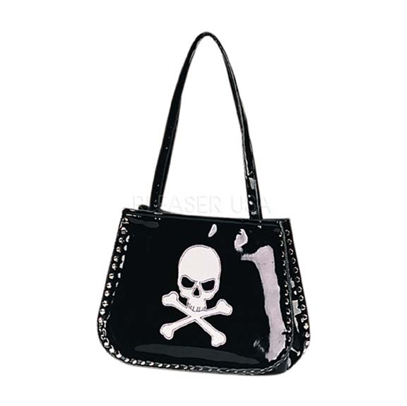 Patent Bag With Skull